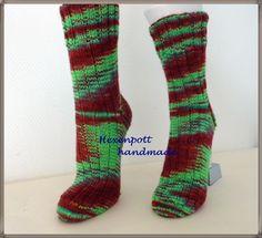 Socken -  Socken handgestrickt KLAASKEA Gr.40 - ein Designerstück von Hexenpott bei DaWanda