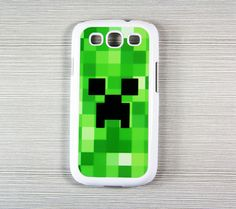 Minecraft Creeper Samsung Galaxy S3 SIII I9300