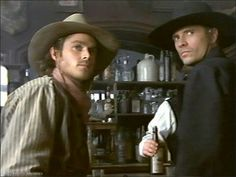 Magnificent Seven TV Series Chris Larabee and Vin Tanner Old Tv Shows, Movies And Tv Shows, Rick Worthy, Dale Midkiff, Eric Close, Laurie Holden, The Magnificent Seven, Cowboy Horse, Tv Westerns