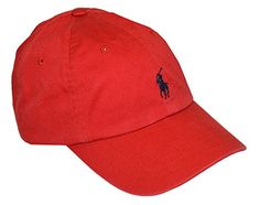f14aadf42670 POLO Ralph Lauren Baseball Cap RED   READ MORE   http   www.