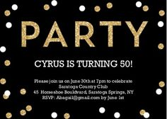 General Party Invitations | General Party Cards | Snapfish