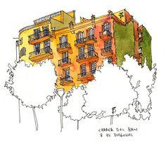 Carrer del Bruc / Av. Diagonal, Barcelona   Parka Blogs