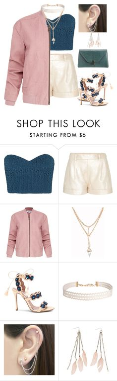 """""""Afternoon party"""" by paulina-213 ❤ liked on Polyvore featuring TIBI, Diane Von Furstenberg, Helmut Lang, Tabitha Simmons, Humble Chic, Otis Jaxon, Charlotte Russe and Valextra"""