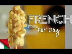 Ricetta French Fries Corn Dogs, come realizzare il würstel in pastella tipo Coreano - YouTube