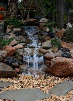 06 Amazing Backyard Pond and Water Feature Landscaping Ideas