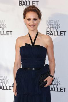 Natalie Portman arrives for The New York City Ballet Spring Gala 2012.