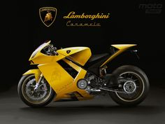 If this is real who knew Lamborghini made a sport bike, cool.