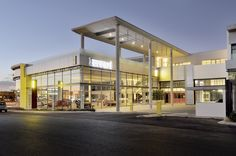 DBM Architects | Scuderia Ferrari Dealership, Bryanston, Johannesburg South Africa, Architects, Mansions, House Styles, Home Decor, Decoration Home, Room Decor, Building Homes