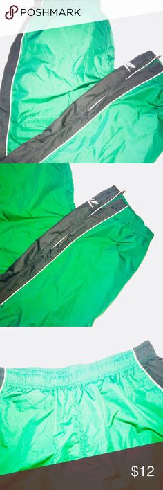 Green & Black Redbox Pants Excellent Used Condition Reebok Pants Sweatpants & Joggers