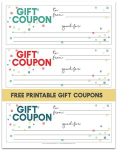 free printable gift certificate templates that can be customized