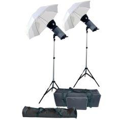 2x300ws Advanced Studio Strobe Lighting Kit - Starter Kit - For a great start! | eBay
