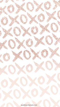 phone wall paper girly phone wallpaper rose gold xoxo rose gold glitter pastel blush pink watercolor brush by Audrey chenal Pink And Gold Wallpaper, Phone Wallpaper Pink, Free Iphone Wallpaper, Trendy Wallpaper, Iphone Wallpapers, Smile Wallpaper, Rose Gold Backgrounds, Wallpaper Backgrounds, Iphone Backgrounds