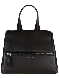 GIVENCHY Givenchy Medium Pandora Pure Shoulder Bag. #givenchy #bags #shoulder bags #hand bags #lining #cotton