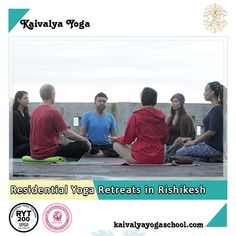RYS-200 certified Kaivalya Yoga School offers fully residential personalized yoga courses in Rishikesh for the aspiring yoga teachers.