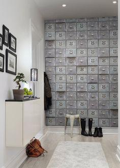 Papier peint casiers – Rebelwalls - Marie Claire Maison