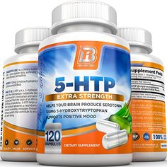 BRI Nutrition 5-HTP – 120 Count 100mg 5 HTP Veggie Capsules – Helps to Improve Your Overall Mood, Relaxation, Sleep & More.  Click to read more. #depression #mood #relief #anxiety #mental #health #resources #therapy #natural #supplements #stress