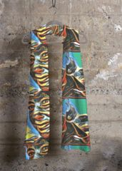 Cashmere Modal Scarf - Wharhol-art by VIDA Original Artist Print Patterns, Cool Style, Cashmere, The Originals, Talent Agency, Artwork, Fashion Tips, Beautiful, Greece