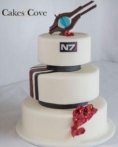 Sweets: Mass Effect Cake