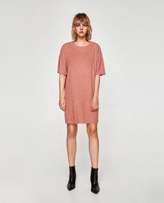 ZARA - TRF - TEXTURED DRESS