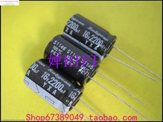 2017 Black Supercapacitor Purpose 10PCS New Japan Rubycon Genuine Ruby Yxa Electrolytic Capacitor 16v2200uf 13x20 Free Shipping //Price: $6.86//     #storecharger