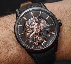Raymond Weil Freelancer RW1212 Skeleton Watch Hands-On #watches #menswatches #skeletonwatches #raymondweil