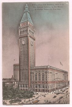Metropolitan Life Building 1909 NYC