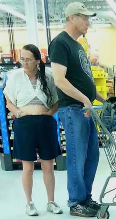 Hands in Pants at Walmart - Funny Pictures at Walmart