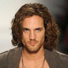 Long Curly Hair Men Hairstyle Wavy Large, click now for more info. Long Curly Hair Men, Long Hair Cuts, Short Wavy, Straight Hair, Curly Bob, Big Hair, Curly Blonde, Medium Hair Styles, Curly Hair Styles