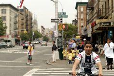 The Washington Heights neighborhood in New York City
