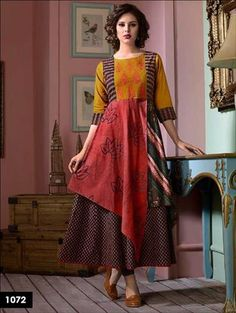 deb4331075 Yellow and Red Designer Party Wear Gown   www.dafashionhouse.com Pakistani  Bridal Dresses