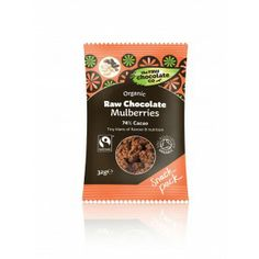 This exciting synergy of rich raw chocolate and organic white mulberries will tickle your senses, cacao is one of the most nutirent rich foo...