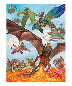 Another great find on #zulily! Dragon Flight 400-Piece Family-Size Puzzle #zulilyfinds