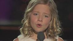 To believe...yes, it is so easy to dream and to believe when this little princess sings  Jackie Evancho