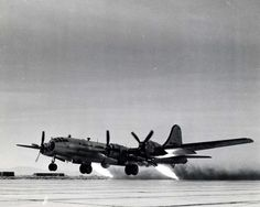 B-29 with Rocket Assist Take Off