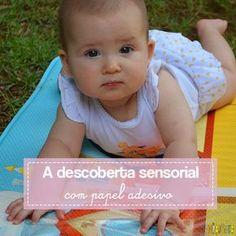 Ajudar o bebê a ficar de bruços é bem importante para seu desenvolvimento. E quando mesclamos com uma brincadeira sensorial, o resultado é ainda melhor