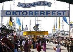 Germany...Oktoberfest....very big glasses of beer!