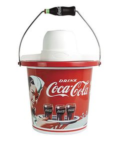 Loving this Coca-Cola Limited Edition 4-Quart Ice Cream Maker on #zulily! #zulilyfinds