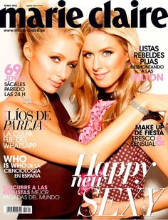 Paris and Nicky Hilton in Marie Claire Spain (Photo Gallery)
