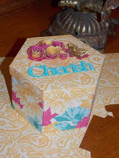 Beverly's Blog: Authentique Hexagon box