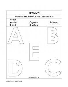 kindergarten alphabet worksheets alphabet worksheets worksheets for preschoolers and alphabet. Black Bedroom Furniture Sets. Home Design Ideas