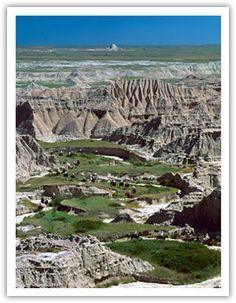 Visiting All 50 States: Toadstool Geologic Park, Nebraska, USA