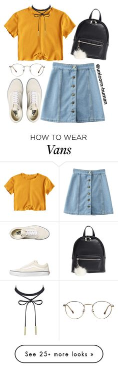 """Untitled #3094"" by unicorn-human on Polyvore featuring Vans and BP."