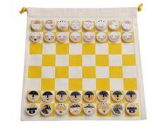 Jeu d'échecs La Cour du Roi - Les Jouets Libres - Visuel 2