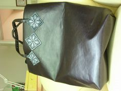 Made by Maureen extra large vinyl shopper #1=$45