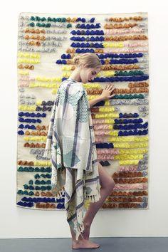 Collection printemps été 2016 // Miroir zinc #mapoesie #scarf #foulard #miroir