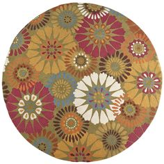 Green Rug - 8 Ft Round