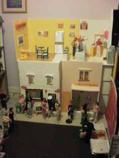 One view of Barbietown by Pumpkin Hill Studios, via Flickr