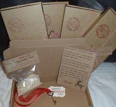 Christmas eve boxreindeer foodmagic santa key tagsnowman soup santa s christmas eve box personalised letter magic key reindeer food tag spiritdancerdesigns Image collections