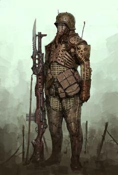ArtStation - Soldier of the Apocalypse, Ariel Perez