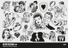 50's illust - Google 検索